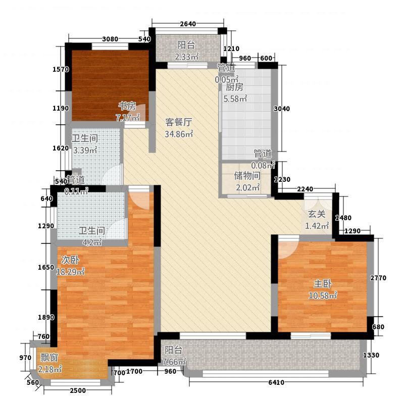 森兰公寓住宅单F9-21-500户型