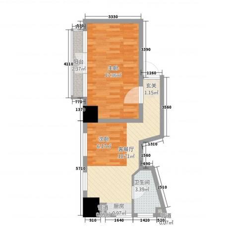 99号公馆1室1厅1卫0厨1148.00㎡户型图