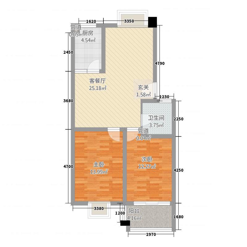 永盛广场2.10㎡户型
