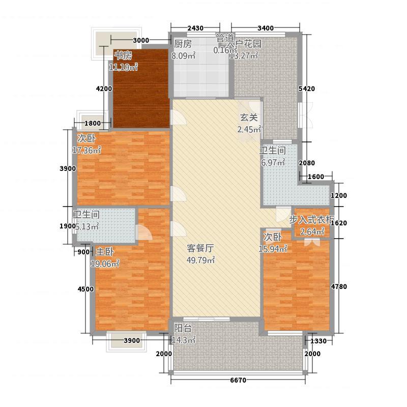 国际公寓北区三期D3户型
