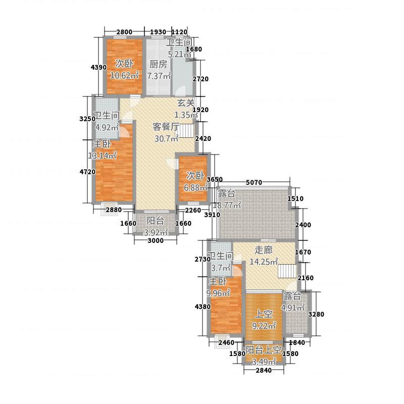 颖都・金鼎国际11.83㎡颖都金鼎国际4-3-3-户型4室3厅3卫4厨