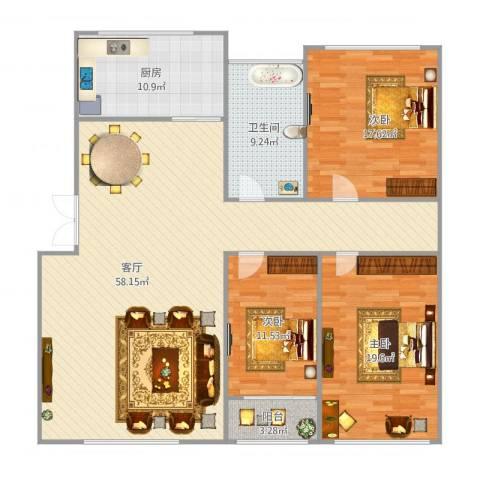 军港世家-3室-136㎡