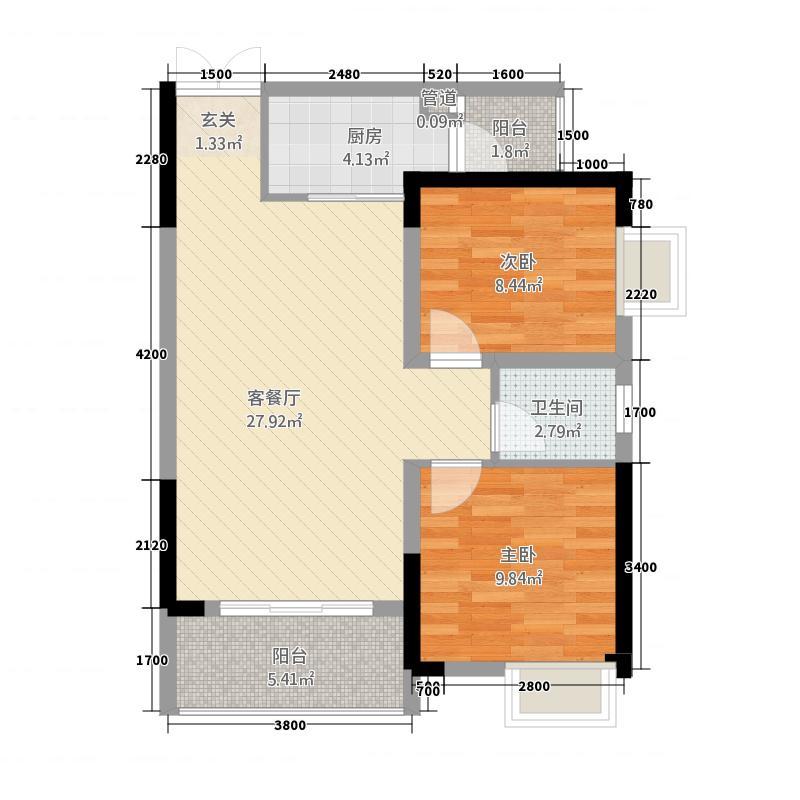 润庆景秀江山11-4户型