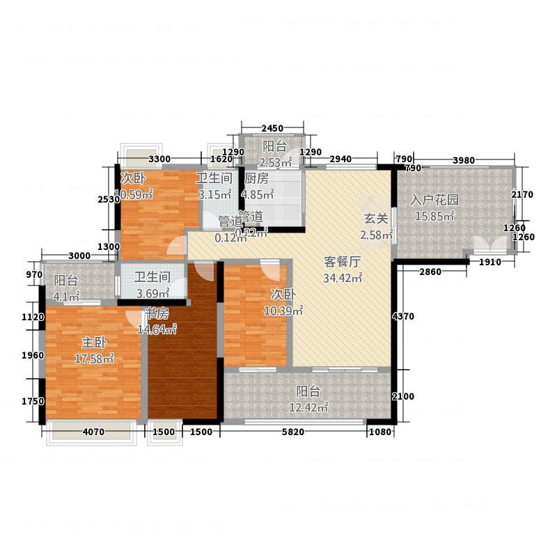 城市假日E区12.00㎡7号楼B栋0户型4室2厅