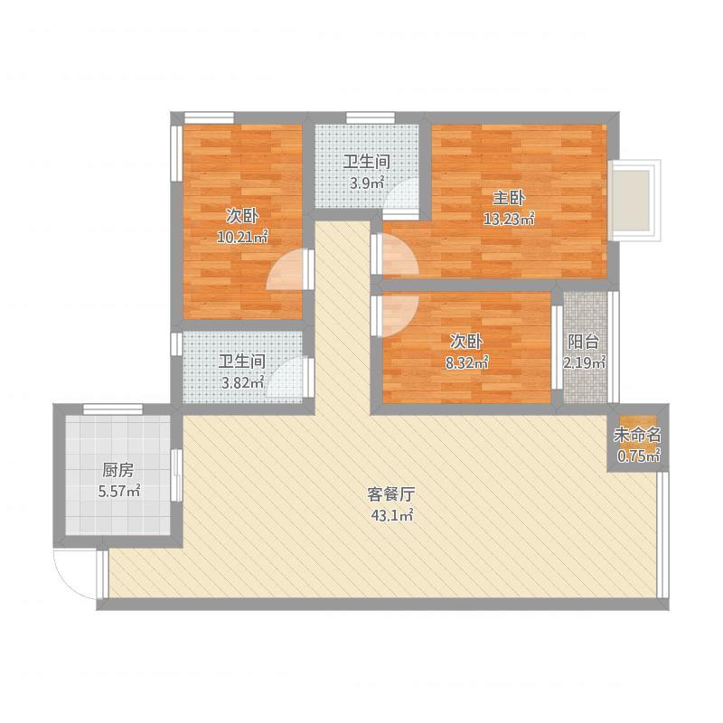 建筑面积126杨先生雅居