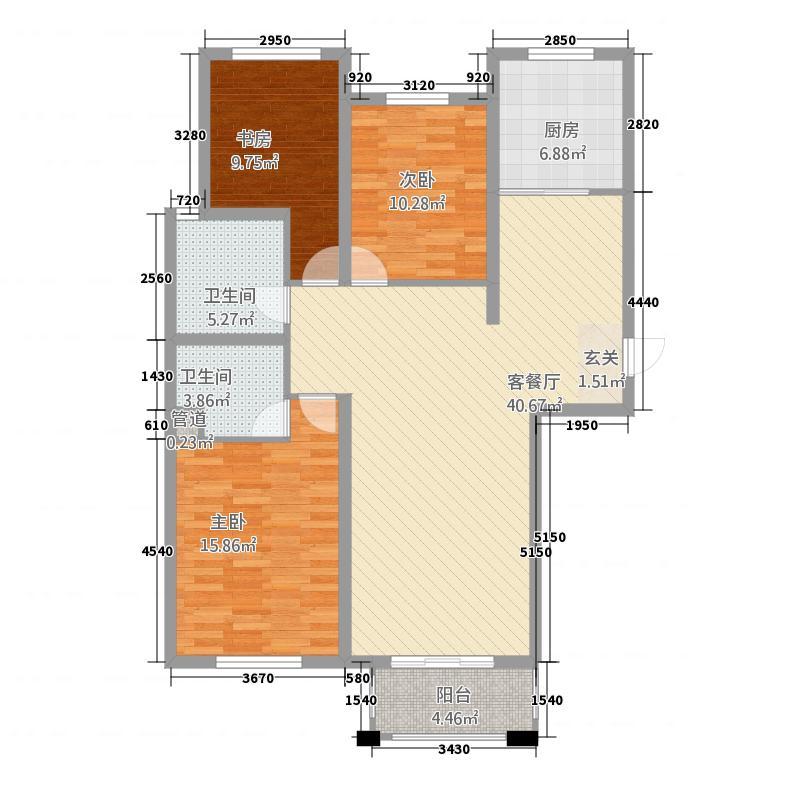 御金广场32211374080.00㎡户型3室2厅2卫1厨