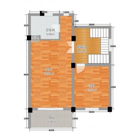 卡布其诺2室0厅1卫0厨92.00㎡户型图