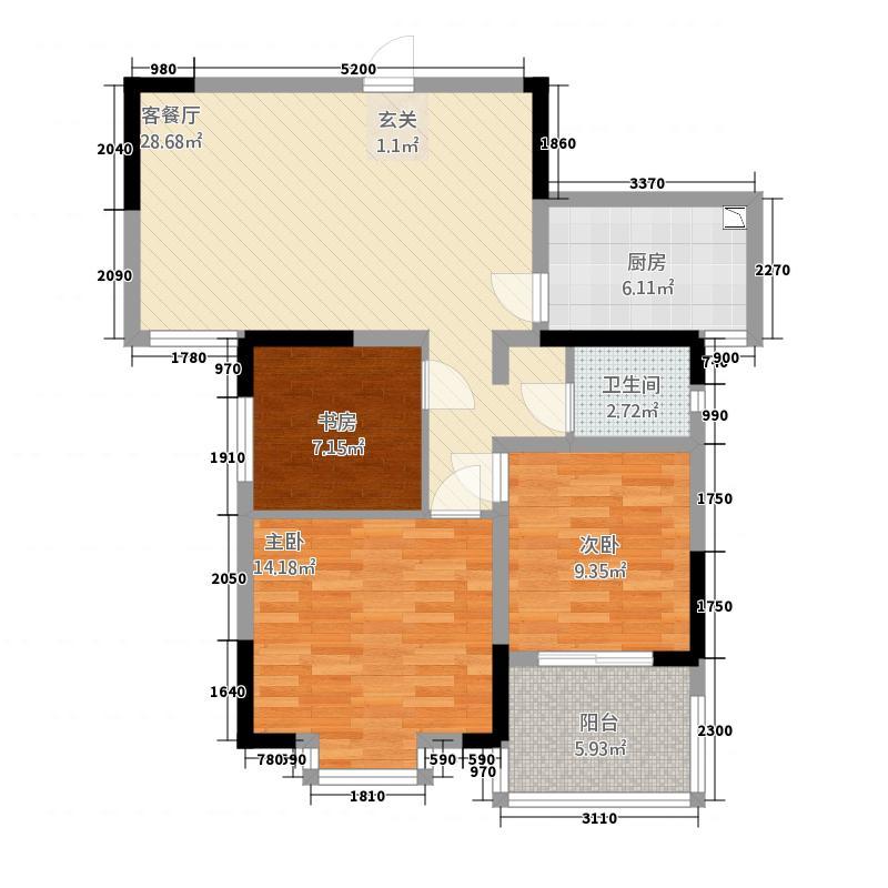 万丰铂金翰宫121534128.00㎡1215342879ef38f7cc户型3室2厅2卫1厨
