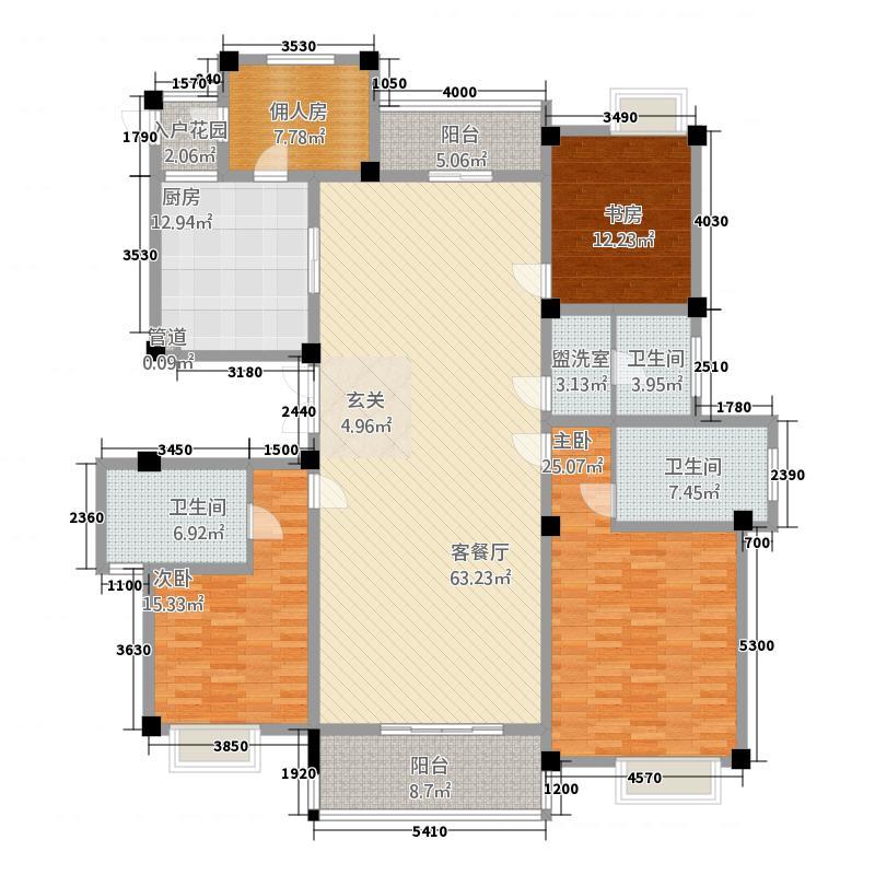 国际公寓北区三期B6户型