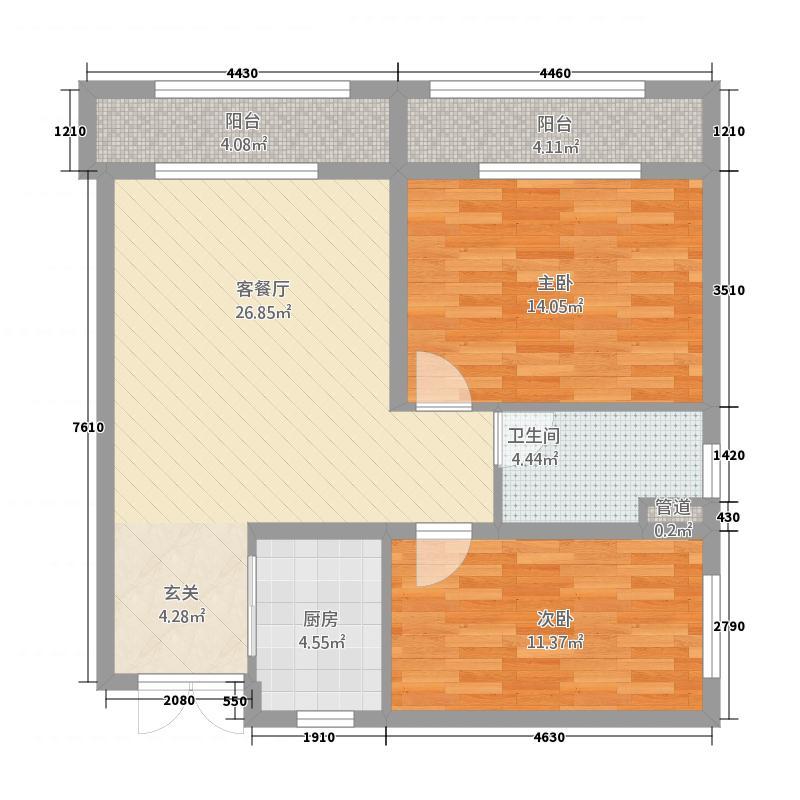 浩宇・泼水商业广场-1户型