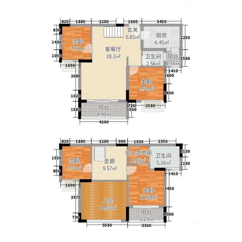 麒龙国际会展城6.20㎡B6B7号B单页户型
