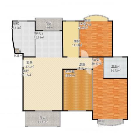 云润家园一期2室1厅1卫1厨294.00㎡户型图