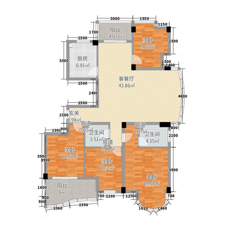 大自然华城公寓1158.20㎡115856_325099户型