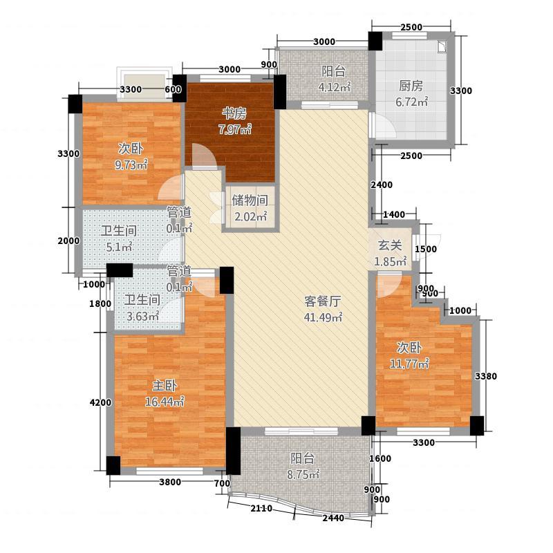 大自然华城公寓1158.20㎡115856_325100户型