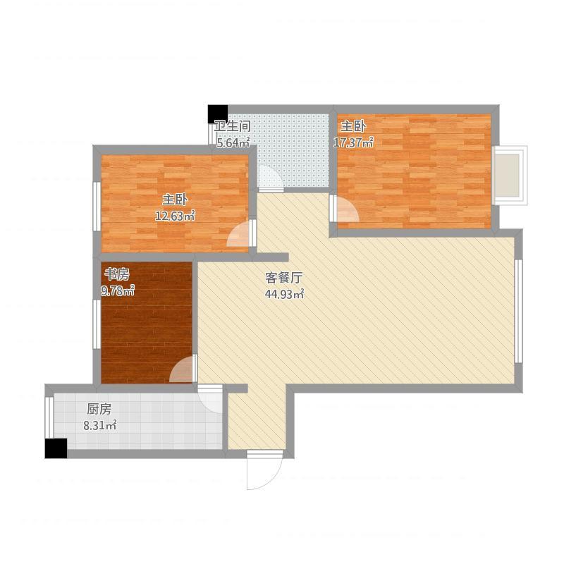 三室两厅-祁教授