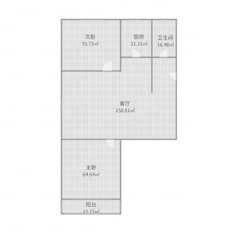 文静里2室1厅1卫1厨429.00㎡户型图