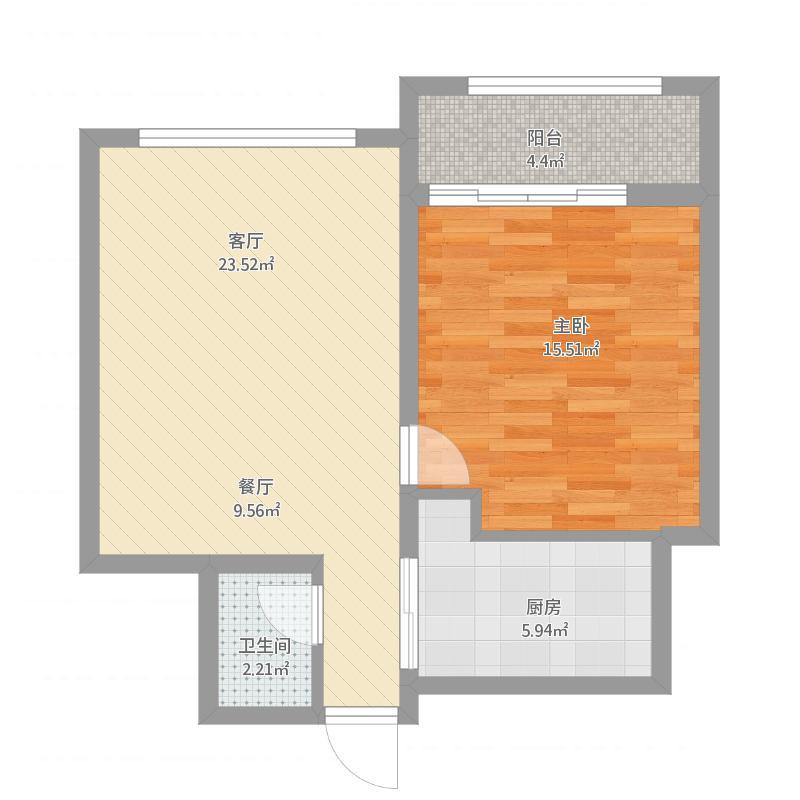 滕义蒙—一室两厅一卫