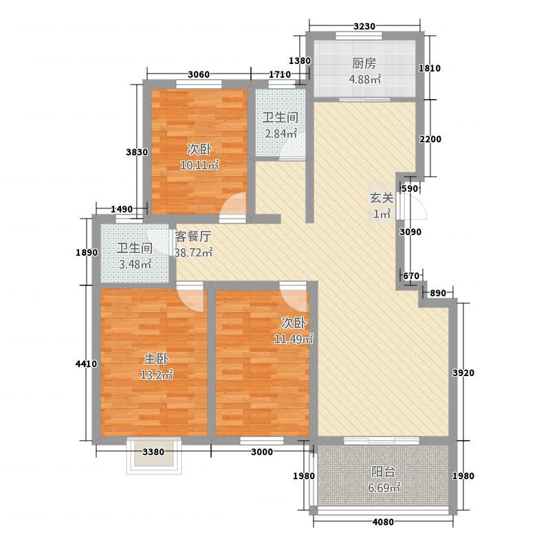 港景香水湾港景香水湾户型图2户型10室