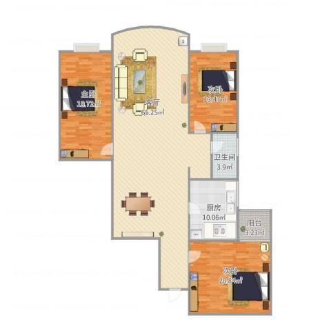 宏丰大厦5043室1厅1卫1厨180.00㎡户型图