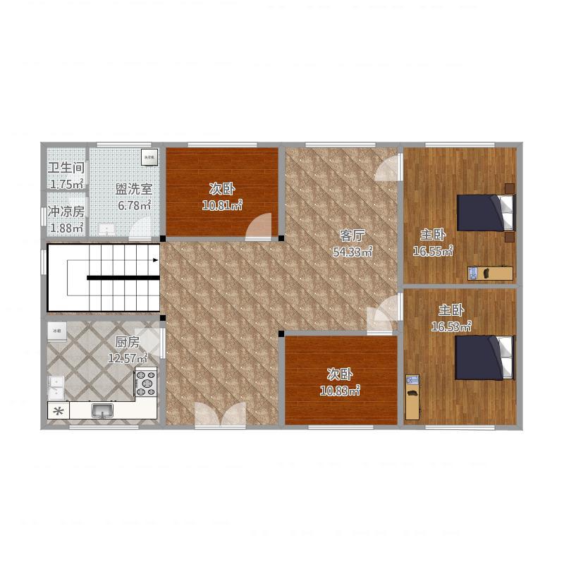 广州_房子修建初期构造图_2015-09-20-1405