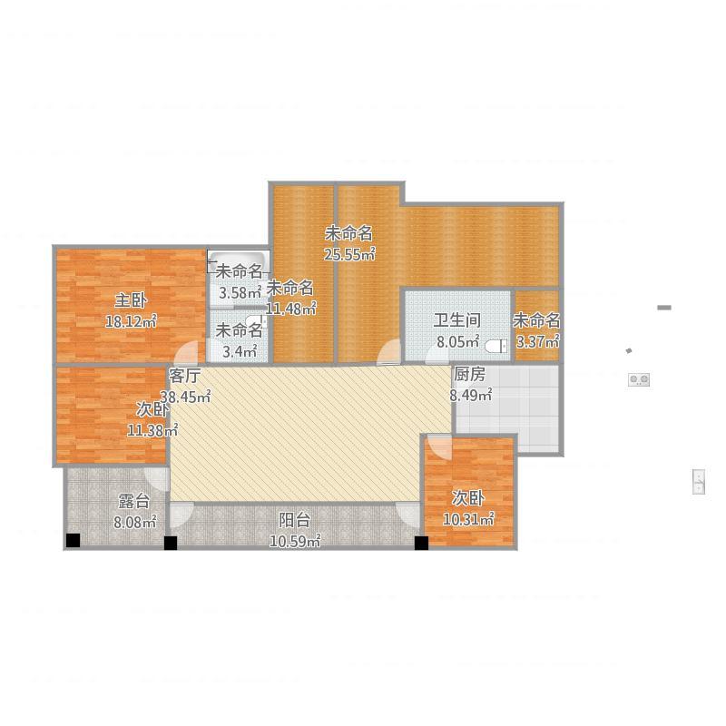 三室有一厅