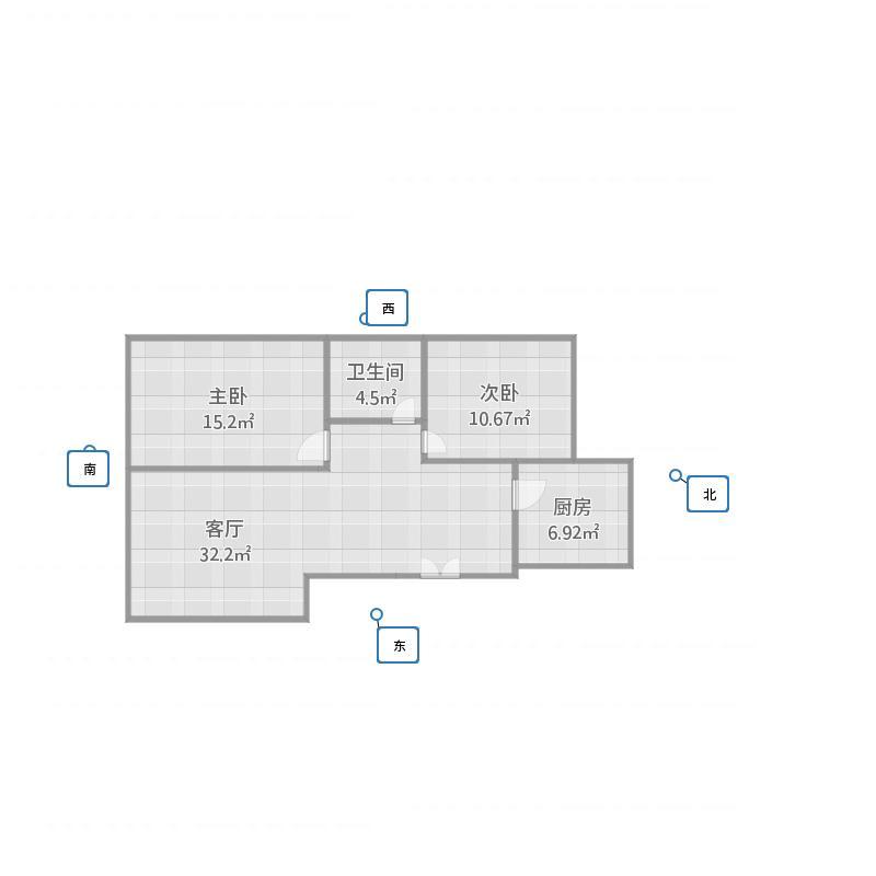 翰林院10#-1-602西户
