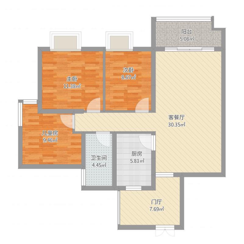 麒龙国际A5栋二单元2204