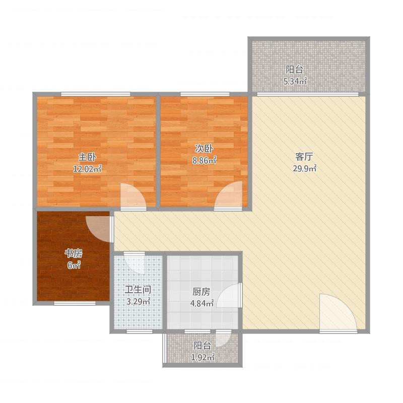 天明豪庭24栋604房