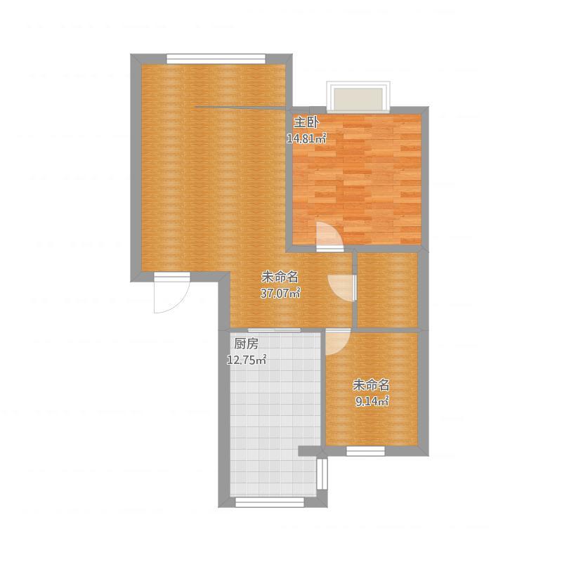 金蓝湾小区3-3-301两室一厅一厨一卫
