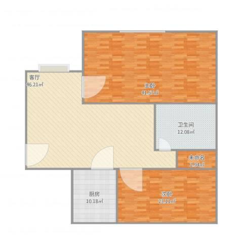 南开西里2室1厅1卫1厨179.00㎡户型图