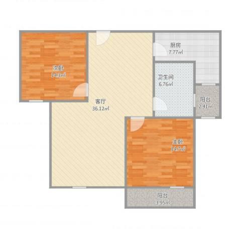 上院112室1厅1卫1厨115.00㎡户型图