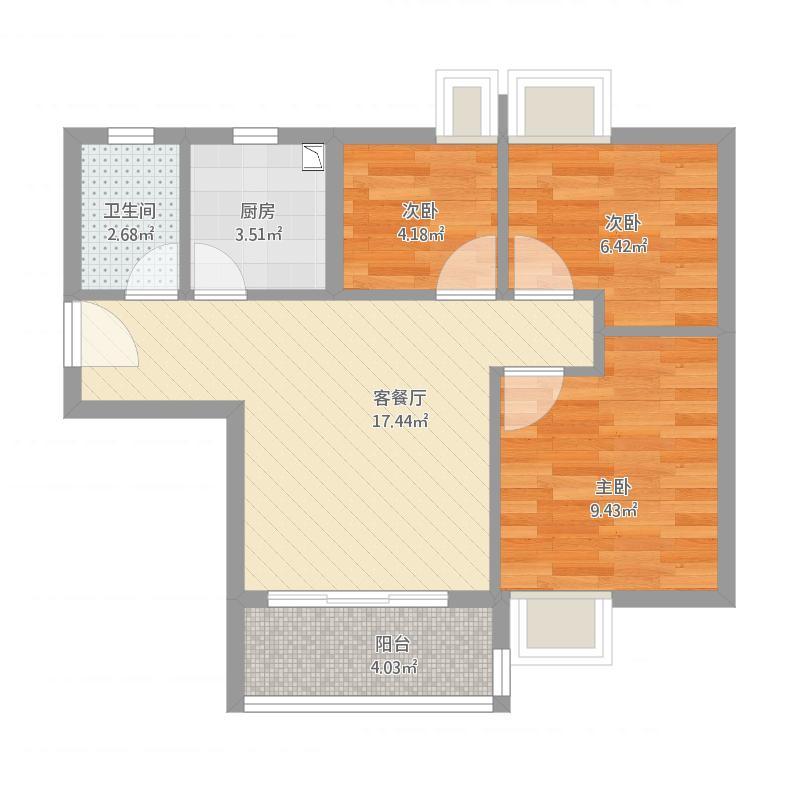 广州人和1号房-设计1