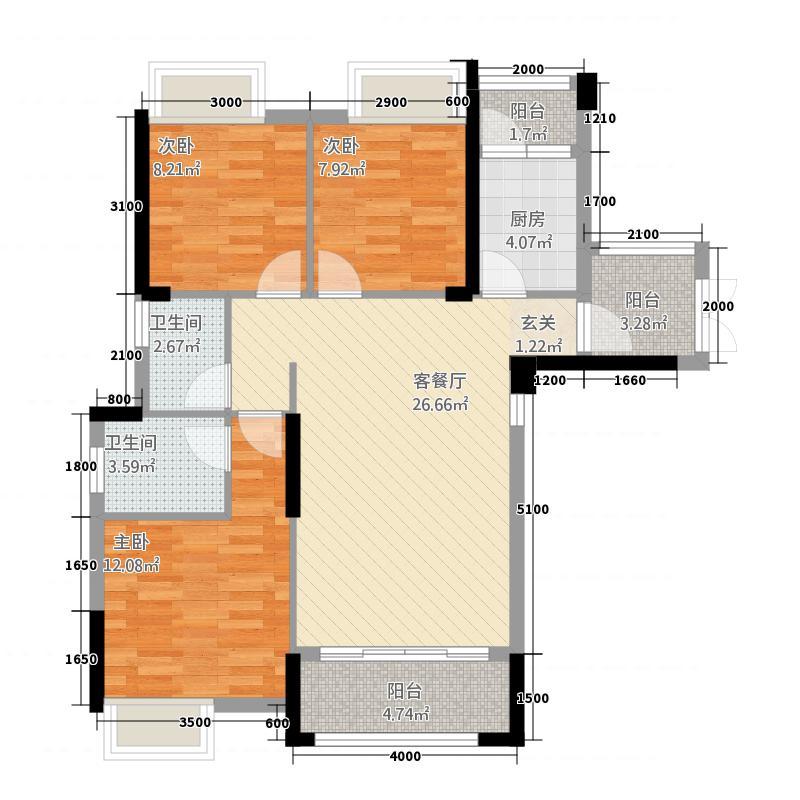 建亨・上东城7#-D2户型