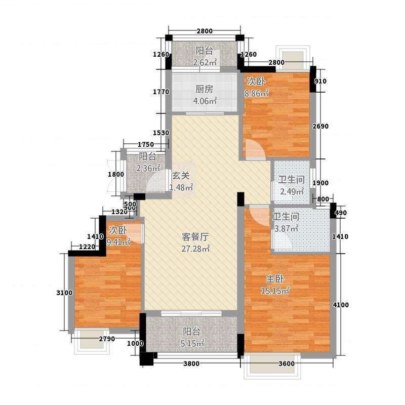 建亨・上东城1#-C1-平面户型