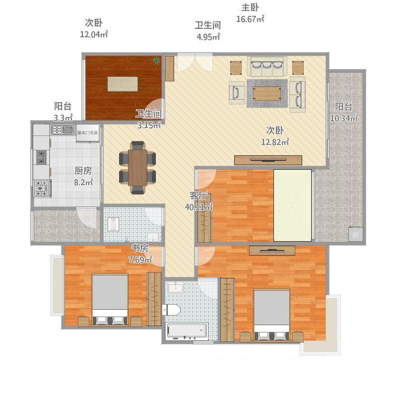 赣州-南康五星公馆-设计方案