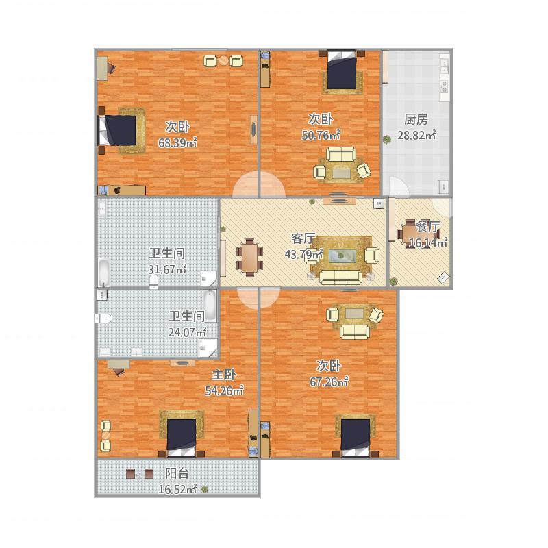 上海_三房一厅_2015-12-10-1259