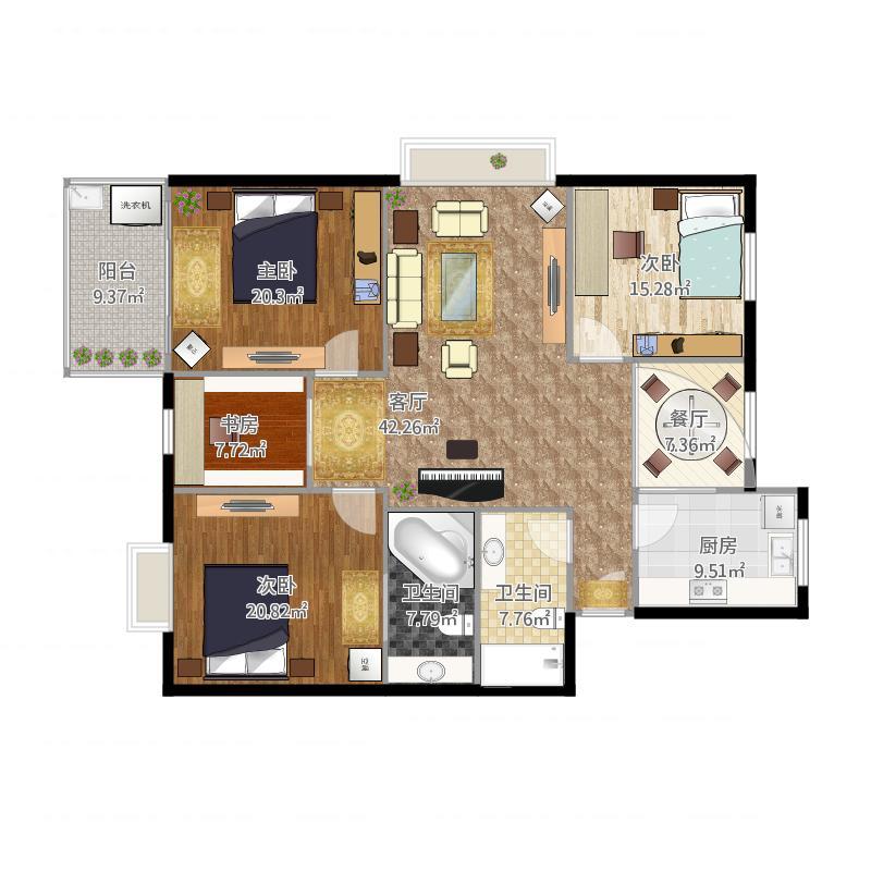 展示空间设计——住宅设计