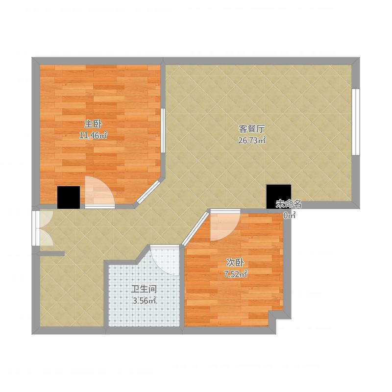 鹏翔商务酒店公寓07户型