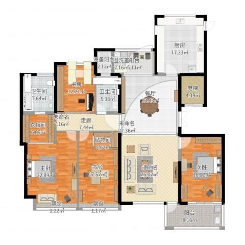 ART蓝海4室1厅5卫1厨262.00㎡户型图