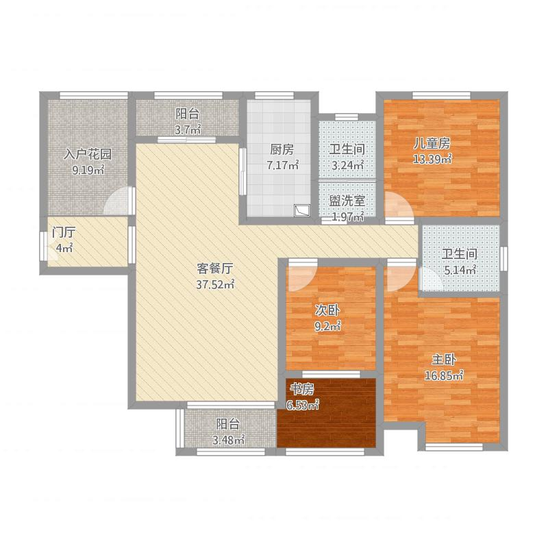 南苑上和二期E房型