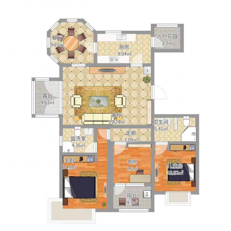三室两厅F