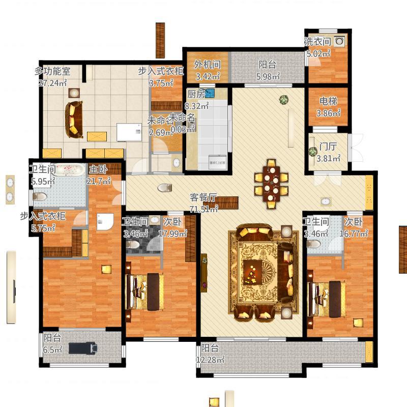 4房方案-1