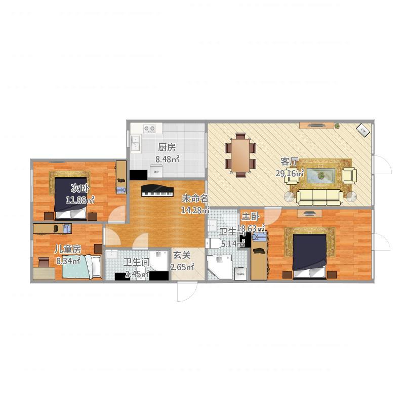 朗琴6号楼5单元901