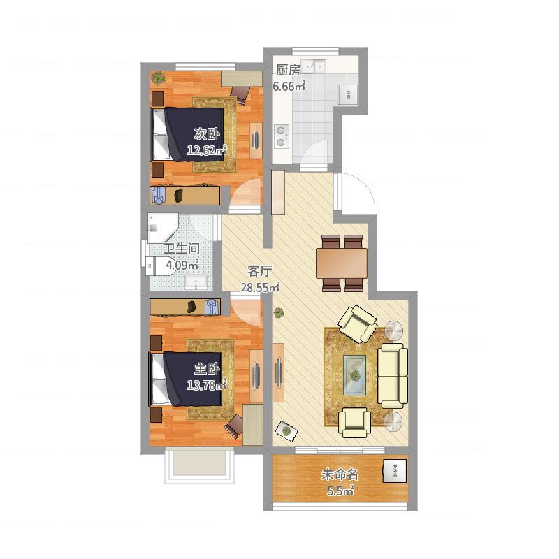 两室两厅A