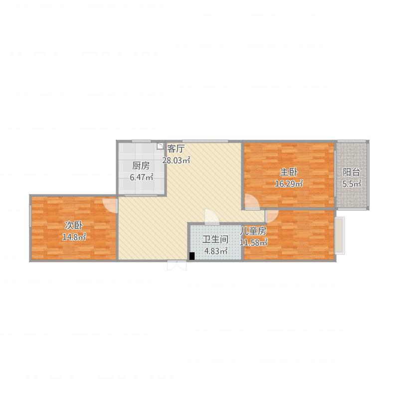 兰州_晟农家园3号楼1单园1号房_2015-12-26-1048