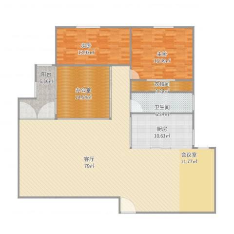 购物中心23022室1厅1卫1厨200.00㎡户型图