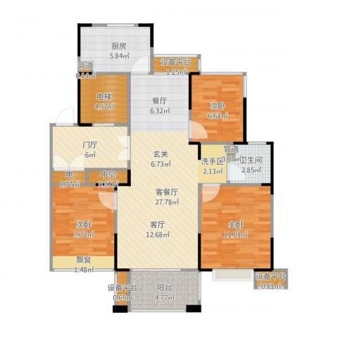 山湖湾5室1厅7卫1厨115.00㎡户型图