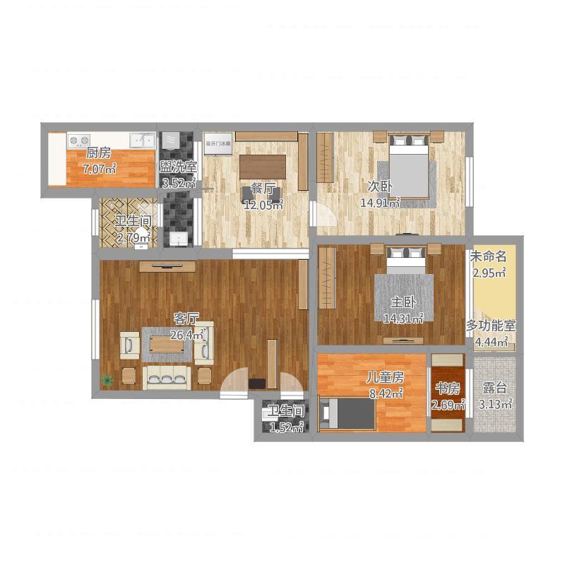 外商公寓1222