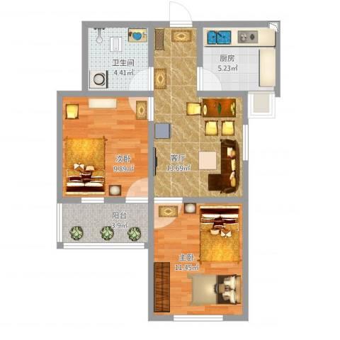 邓城芳草园12室1厅1卫1厨70.00㎡户型图