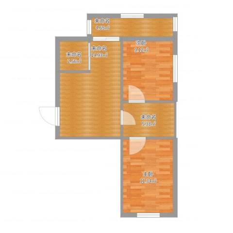 听涛雅苑3室1厅1卫1厨68.00㎡户型图